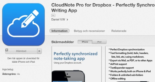 CloudNotePro