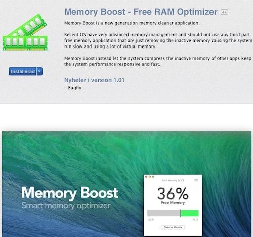 Memory Boost - app