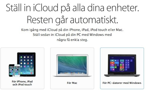ICloud for all