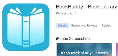 BookBuddy  iPhone