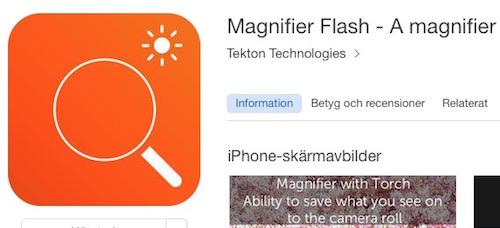 Magnifier Flash