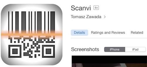 Scanvi  iPhone