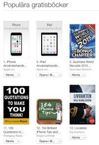 Gratis Böcker  iTunes